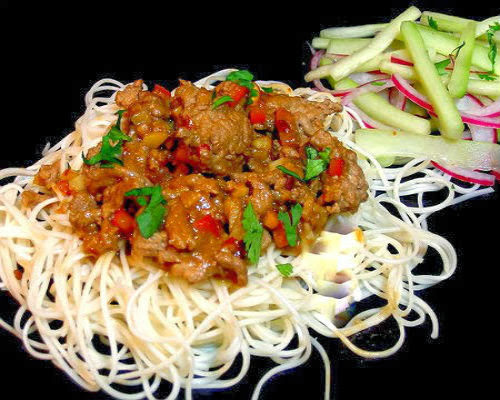 ... chinese new year long life noodles recept yummly chinese new year long