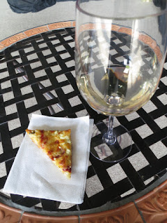 2010 Colaneri Riesling with Homemade Pizza