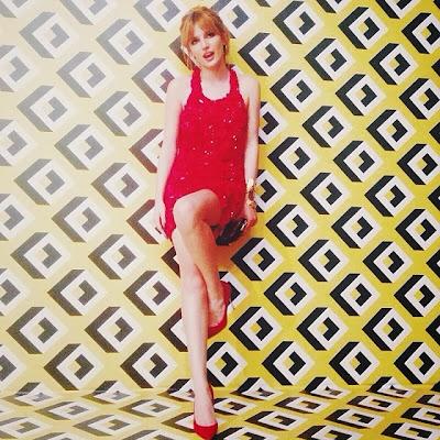 Bella Thorne at Diane Von Furstenberg's Journey of A Dress Exhibition