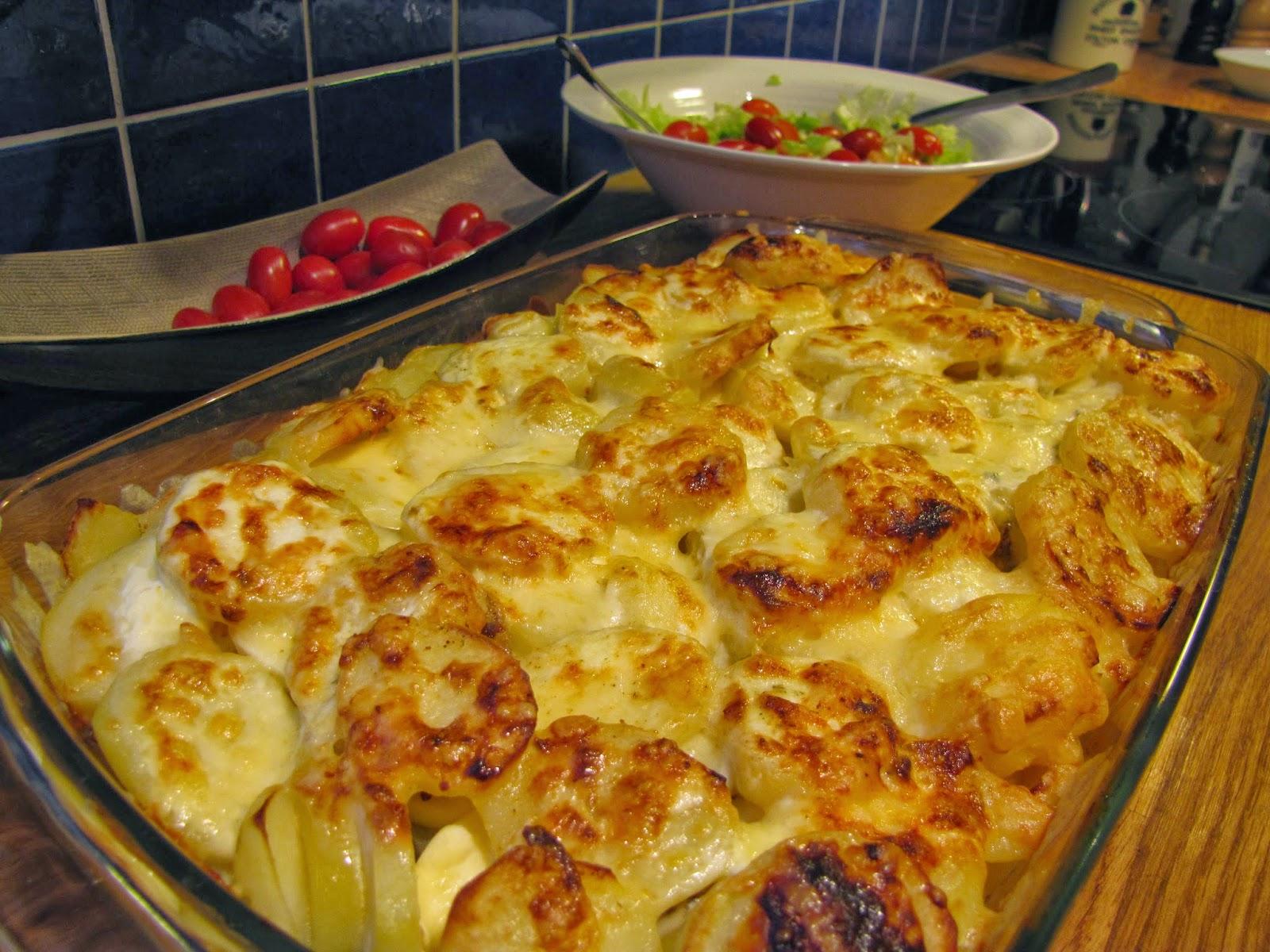 potatis till potatisgratäng