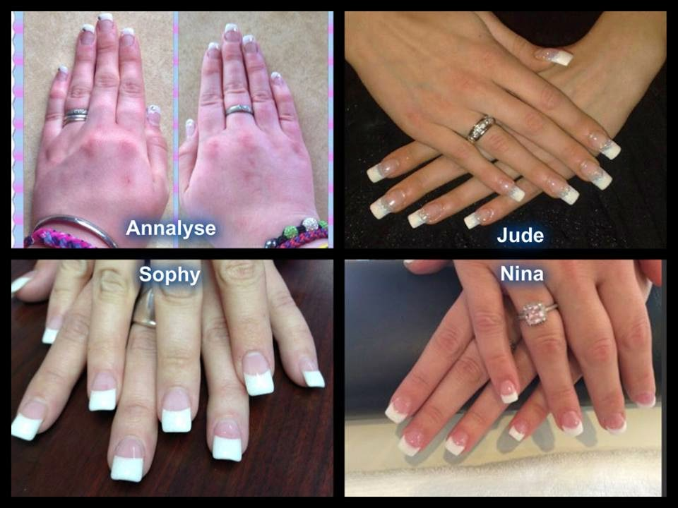 Classic-Pink-and-White-French-acrylics-Shellac-French-Manicure