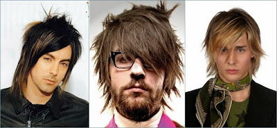 gaya rambut alternatif pria medium
