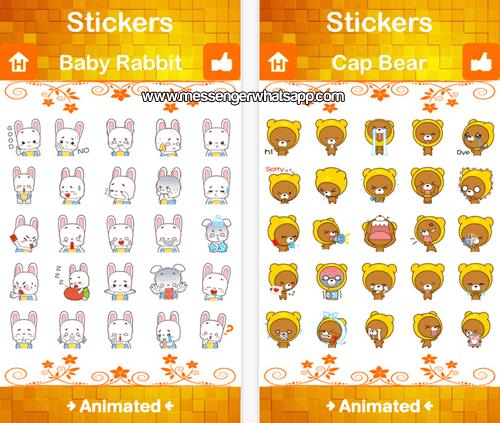 Los personajes mas divertidos en Stickers Plus for WhatsApp