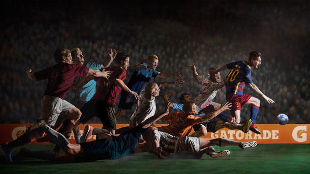 """Messi, protagonista del nuevo anuncio de """"Gatorade"""""""