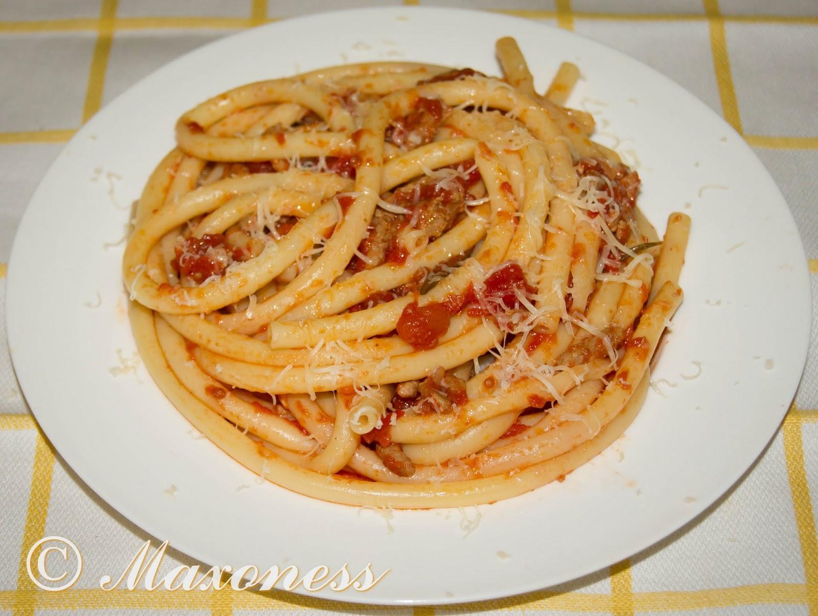Тосканские пичи с томатно-мясным соусом от Джейми Оливера. Итальянская кухня