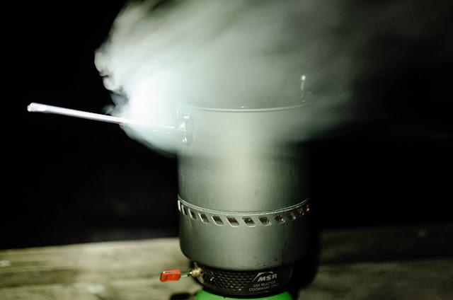 msr reactor stove boiling