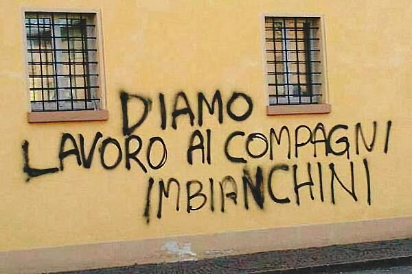 Aforismario scritte sui muri politiche romantiche e divertenti - Frasi scritte sui muri di casa ...