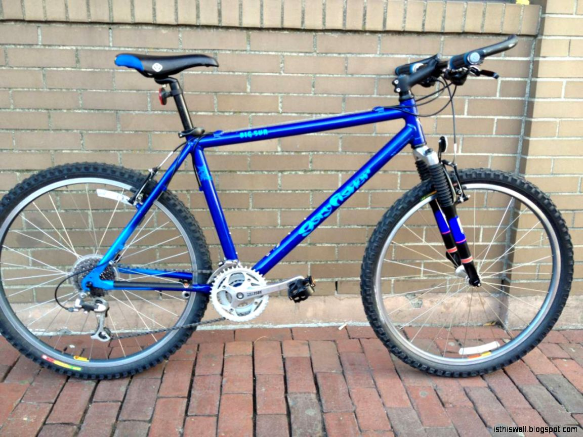 Big Sur Gary Fisher Mountain Bike