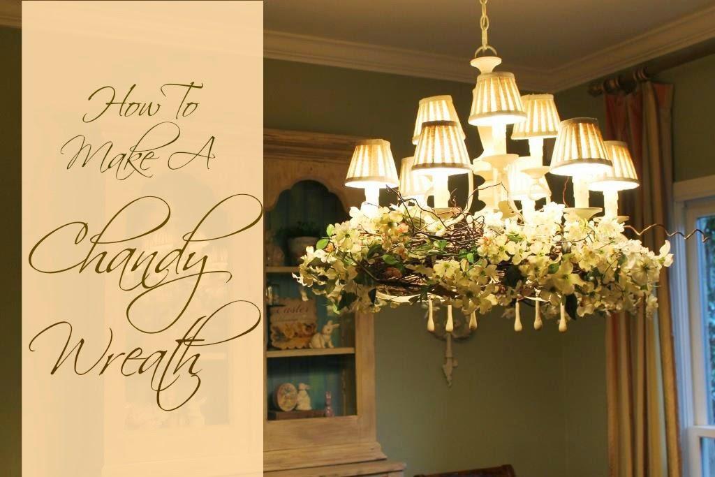 How to make a chandelier wreath miss kopy kat how to make a chandelier wreath aloadofball Gallery
