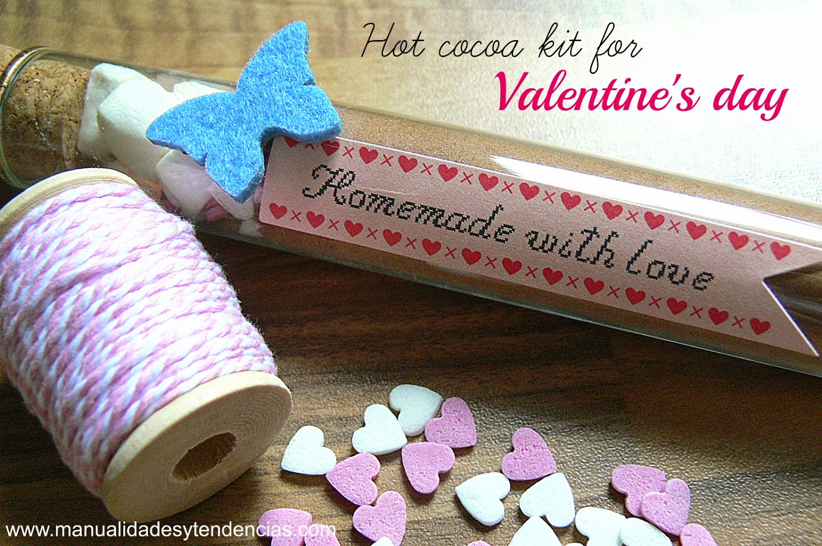 Valentine's day gift idea: Hot cocoa kit