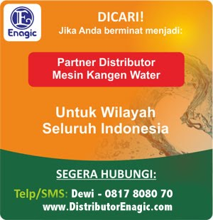 Mesin Air Kangen Enagic - Distributor