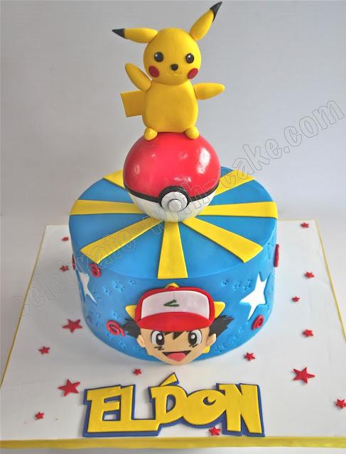 Celebrate with cake pokemon ash amp pikachu cake