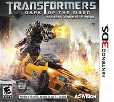 Transformers: Dark of Lua o Stealth da Força Edição Nintendo 3DS
