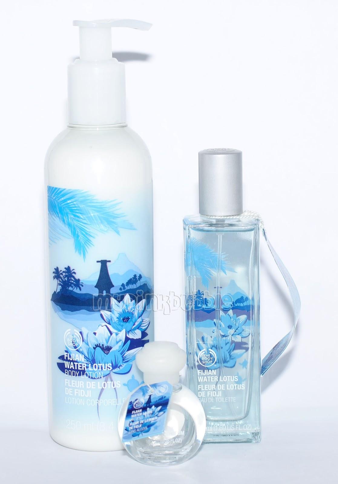 Fijian water Lotus de The Body Shop