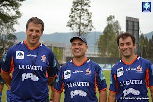 José Macome, Alejandro Molinuevo y Diego Ternavasio