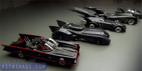 video dokumentari evolusi batmobile batman