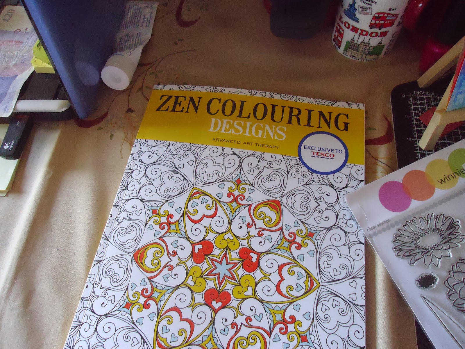 Zen colouring tesco - It Is A Zen Colouring Book I Bought In Tesco Supposedly There Will Be More Of Them I Love What It Says At The Bottom Of The Front Page