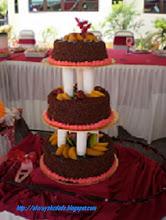 3 TIERS CMC WEDDING CAKES