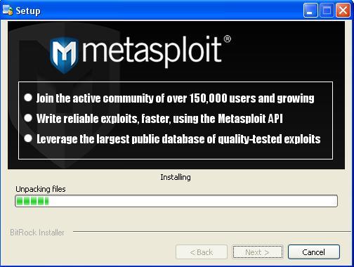 how to open metasploit gui