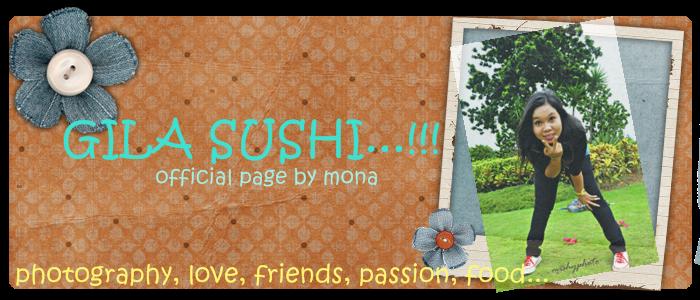 gila sushi...!!!