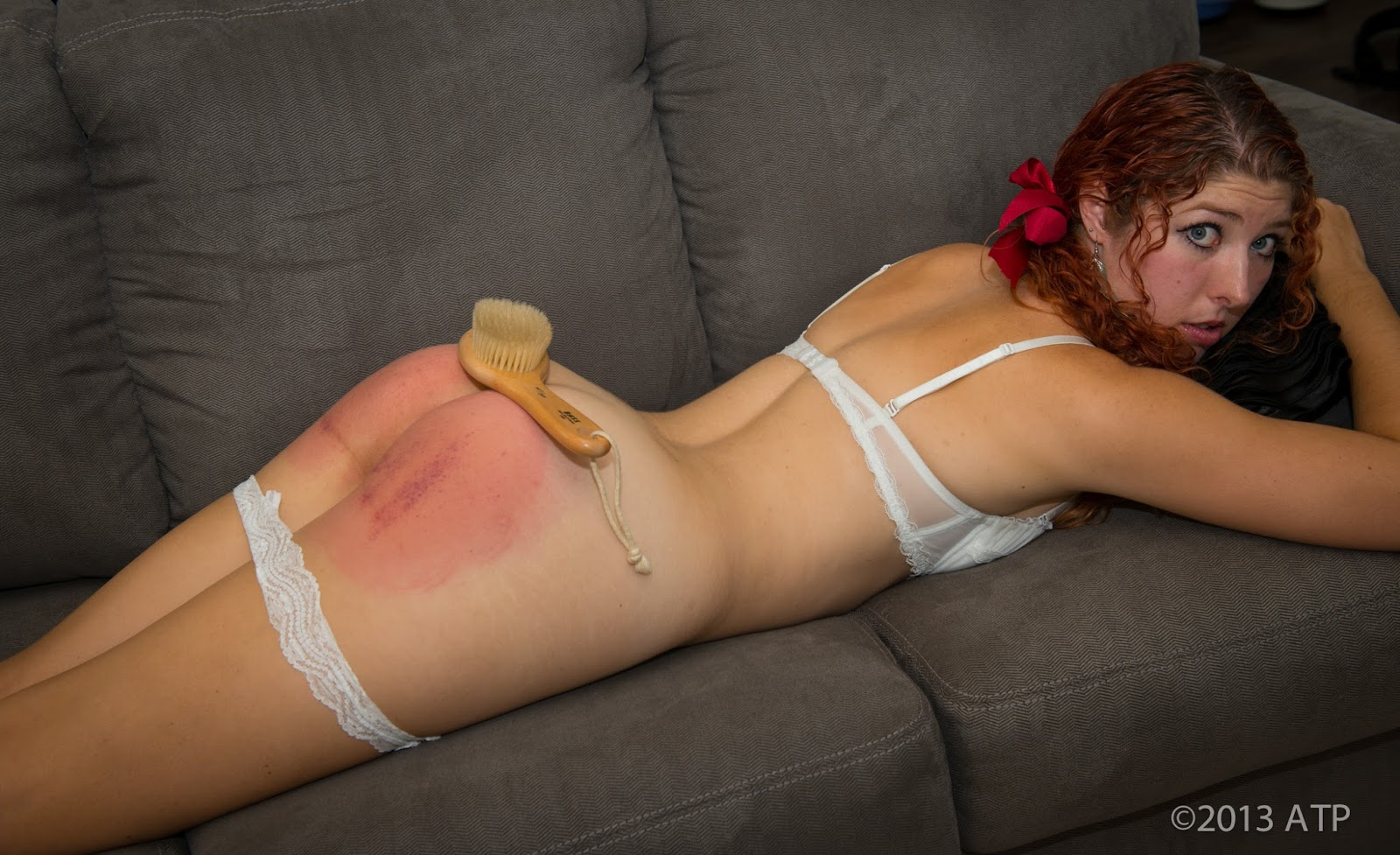 Useful busty blond spanks daughter with belt 4884 apologise, but
