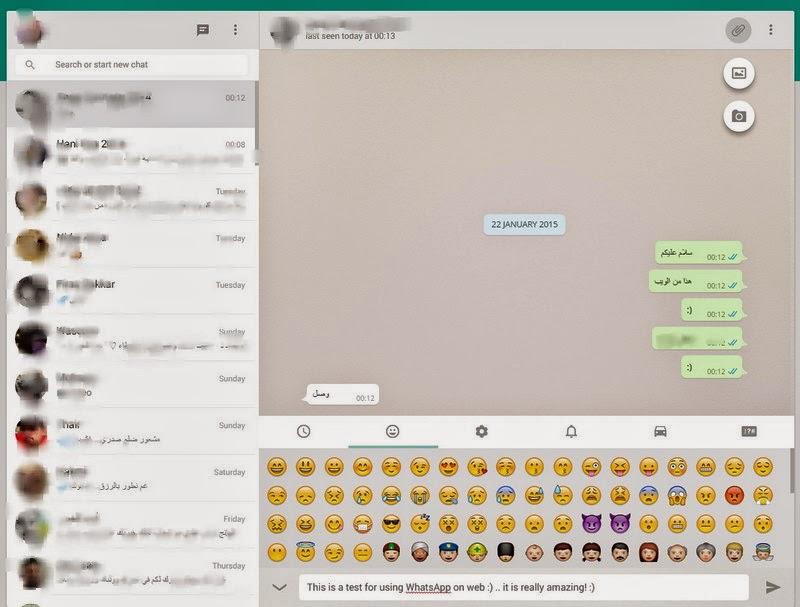 تشغيل تطبيق واتساب على أجهزة الكمبيوتر من متصفح جوجل كروم.
