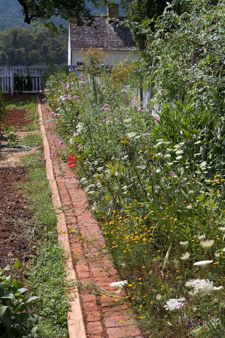 Garden Bricks For Edging : Brick laminate picture garden edging