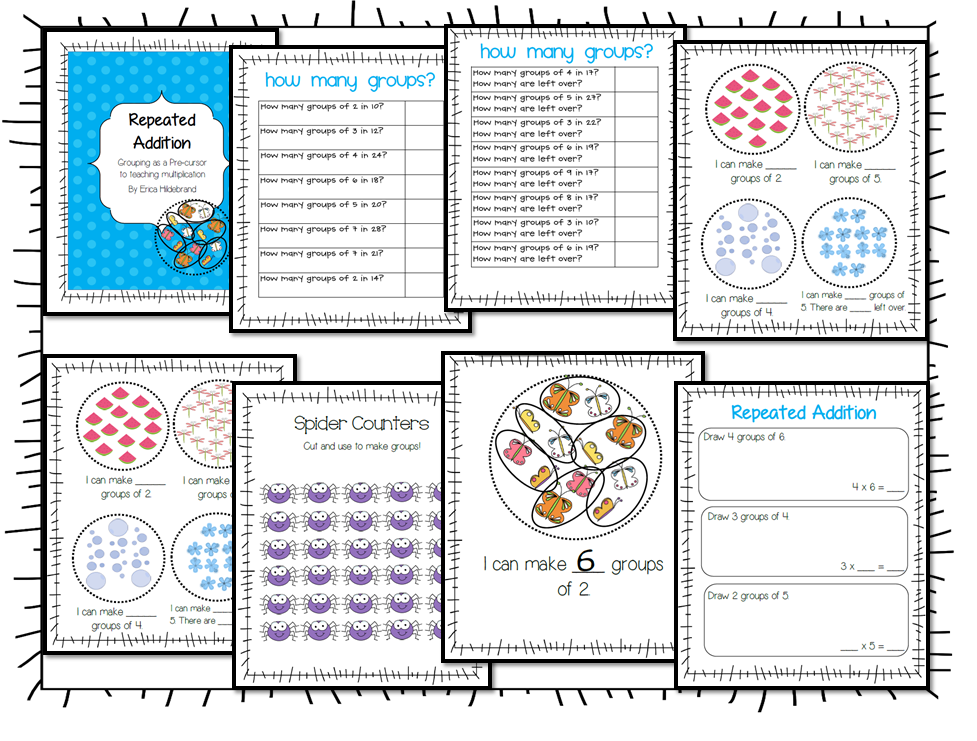 math worksheet : a grade 7 heaven  freebies! : Multiplication As Repeated Addition Worksheet