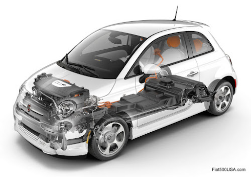 Fiat 500e Cutaway