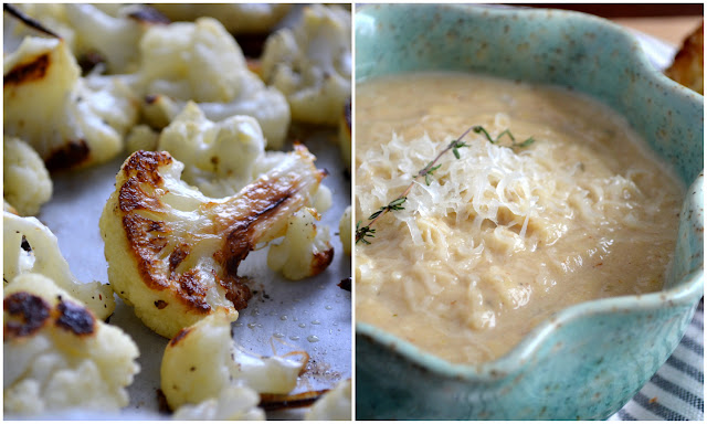 Roasted Cauliflower and Garlic Soup recipe