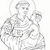 Santo Antônio - desenhos para colorir