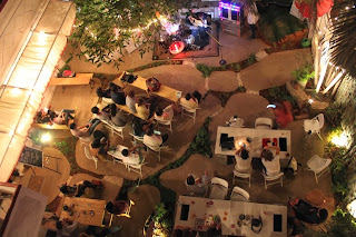 Aerial view of the Jaaga courtyard