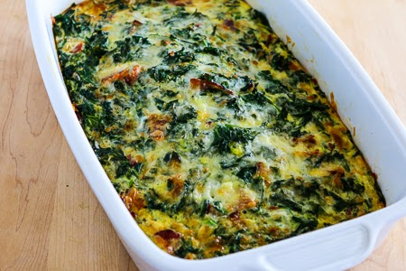 Kalyn's Kitchen®: Kale, Bacon, and Cheese Breakfast Casserole