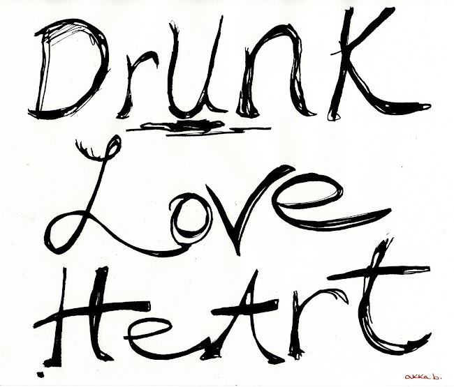 Drunk Love Heart