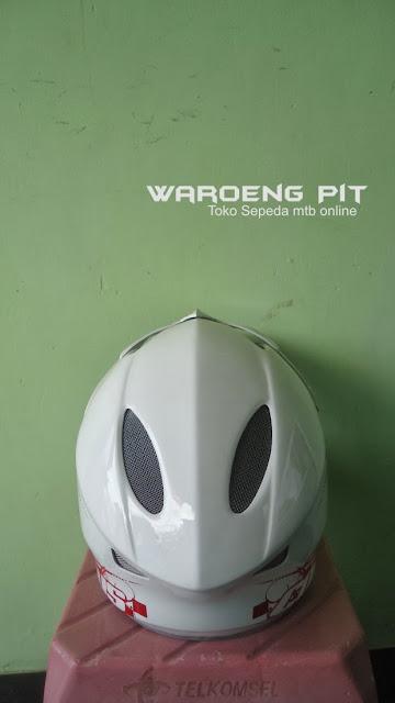 Jual Helmet Full face Polygon sepeda balap mtb bmx gunung downhill murah  3