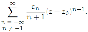 Complex Analysis: #15 The Laurent Series equation pic 5