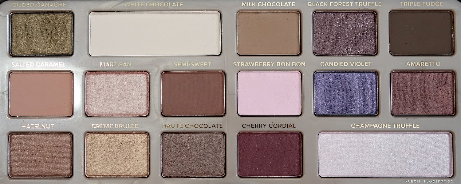 Too faced chocolate bar palette review and swatches xueqis first baditri Images