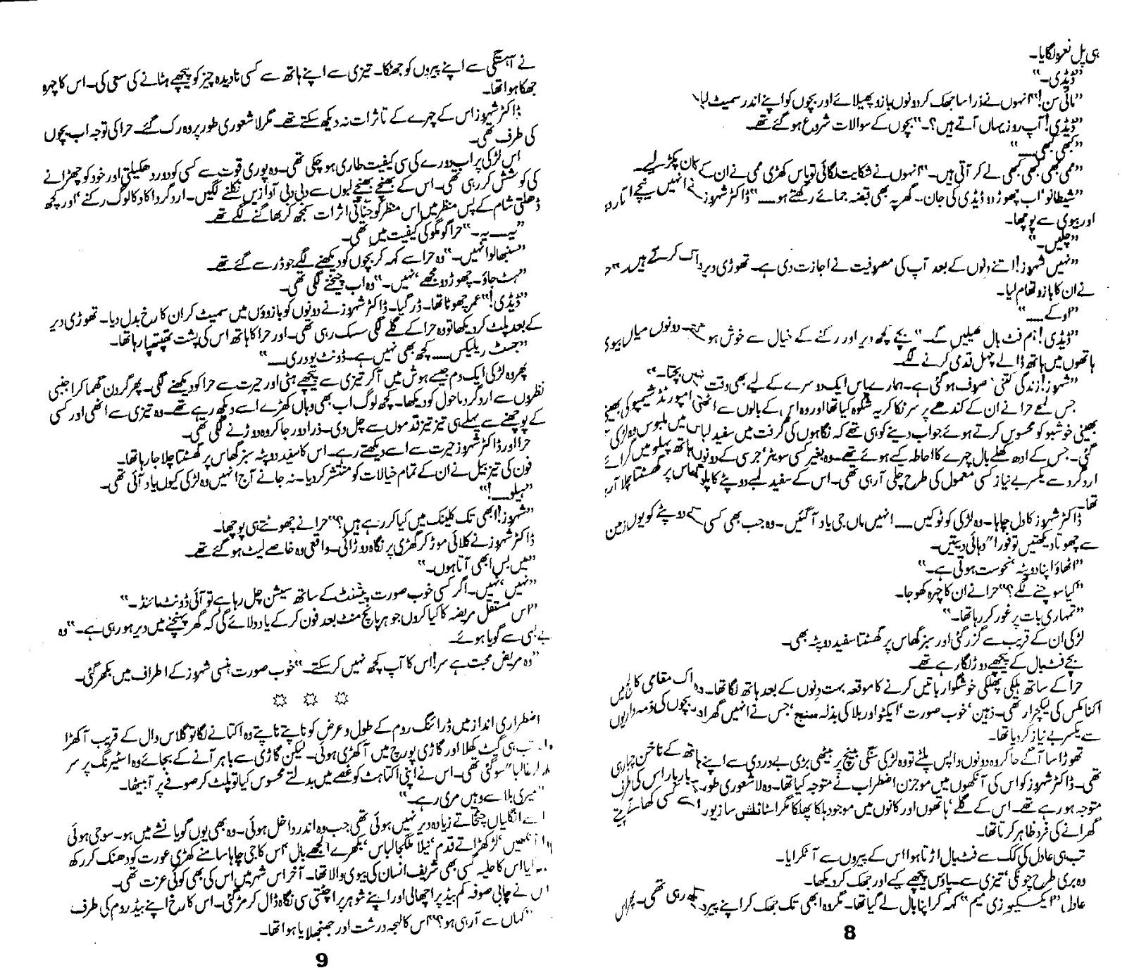 Zard Mausam Novel by Rahat Jabeen Free Pdf