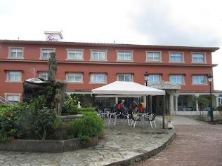 zesde verblijf voor 3 nachten: hotel Garcas