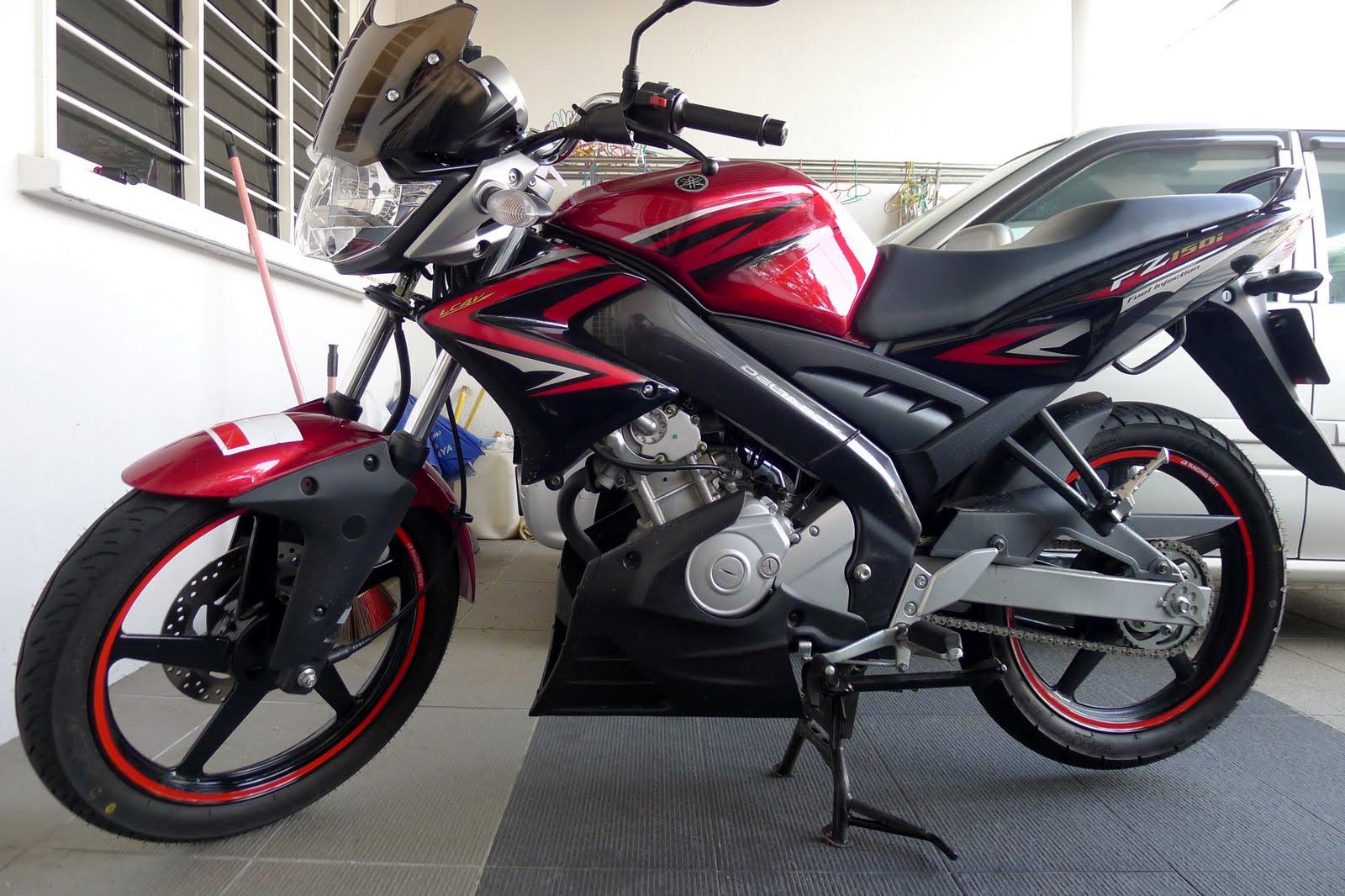 Yamaha Fz 150 Red