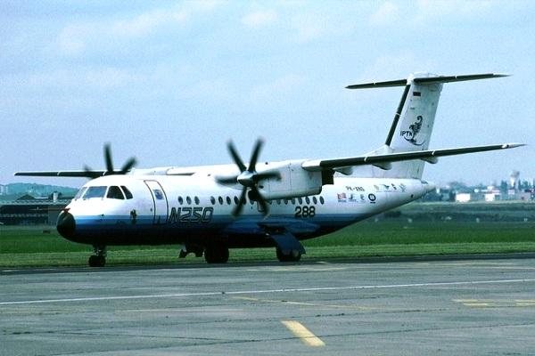 Pesawat N-250 produksi IPTN