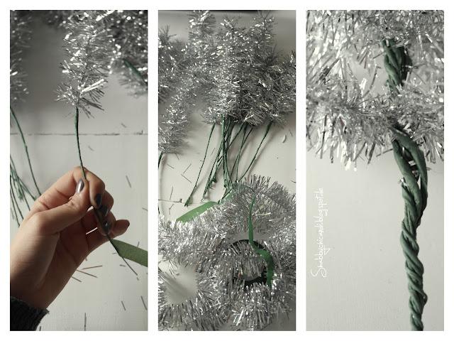 Schrit für Schritt Anleitung Tannenbaum binden