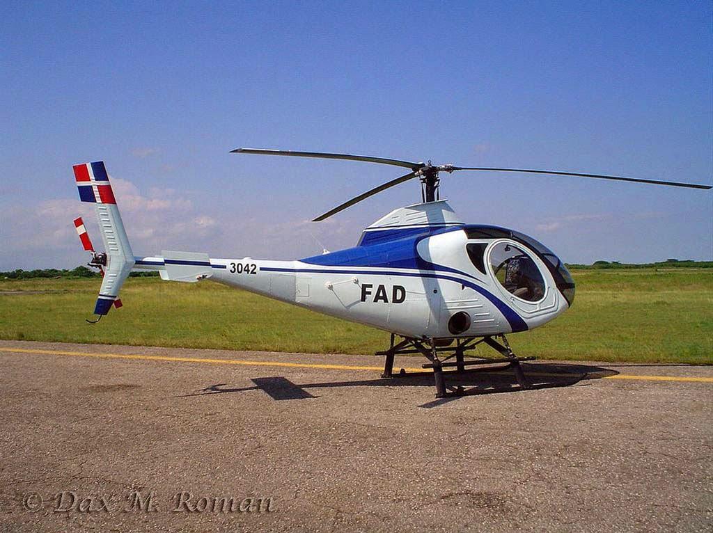 Helicoptero Schweizer 333 Cuatro Helicópteros Schweizer