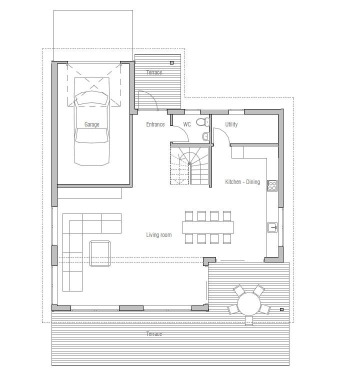 Australian house plans australian house plan ch154 for Modern australian house plans