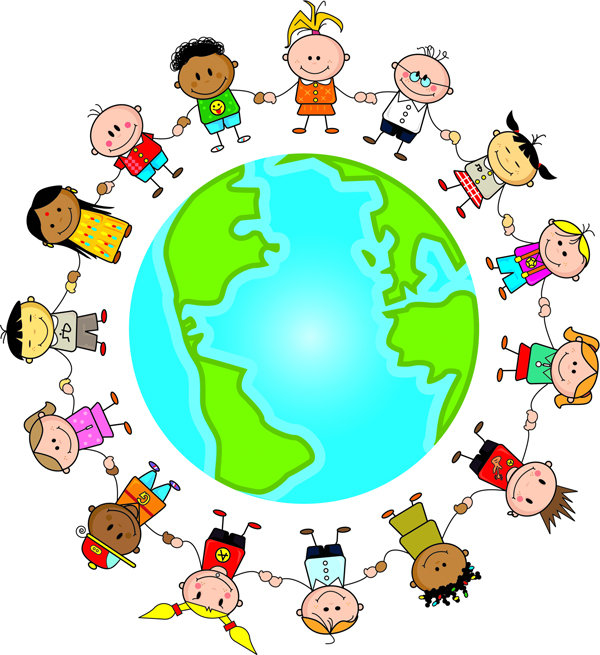 Image result for around the world cartoon