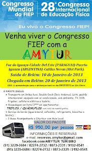 Viva o 28º Congresso Internacional  de Educação Física!