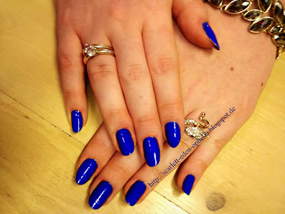 blauer nagellack kiko 336 blau