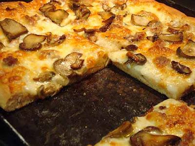 Pizza in teglia a lunga maturazione