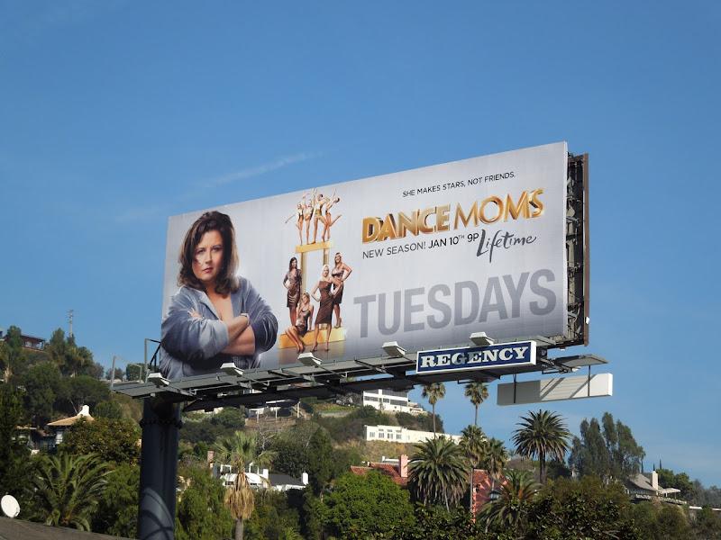 Dance Moms season 2 Lifetime billboard