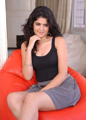 Actress Deeksha Seth Hot Thigh Show Photos